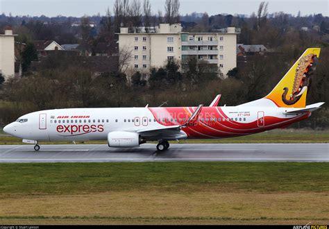 air express vt gha air india express boeing 737 800 at birmingham