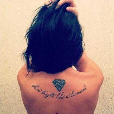 like a tattoo shine bright like a you are a