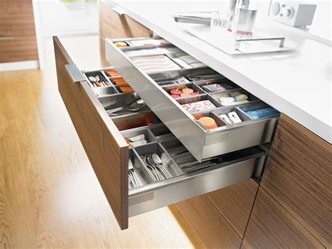 Blum Drawer Dividers by Blum Cabinet Hardware Accessories Kitchen Drawer