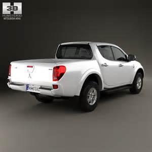 Mitsubishi L200 2014 Mitsubishi L200 Triton Cab Hpe 2014 3d Model Max