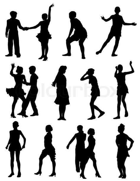 Girl And Boy Silhouette at GetDrawings.com | Free for
