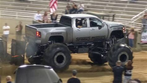 mud truck diesel brothers giant modified diesel trucks pulling first public showing