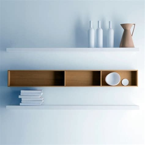 Decorating A Modular Home wall shelf design adds life to your modern home interior