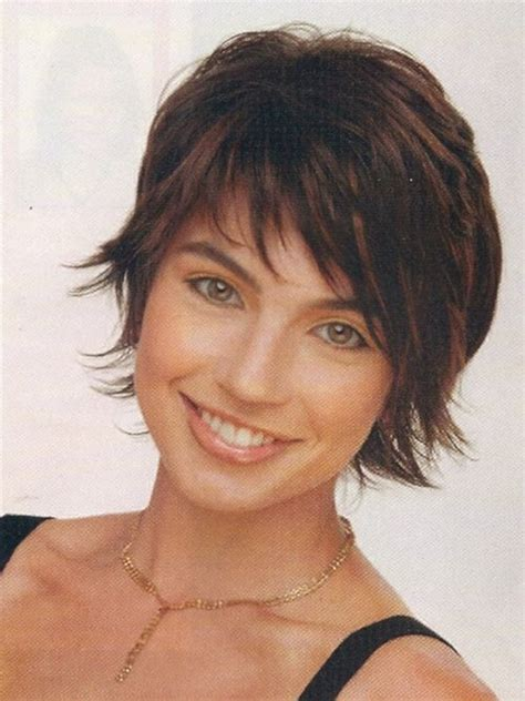 growing out a shag cut short shaggy hairstyles for women with fine hair new
