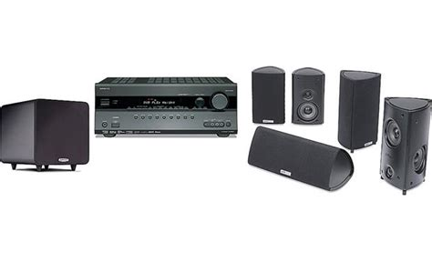 onkyo and polk home theater bundle onkyo receiver paired