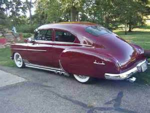 sell used 1949 chevy fleetline fastback in martins ferry