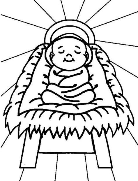 coloring pages baby jesus printable baby jesus coloring pages printable coloring image