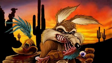 el coyote el coyote al fin se come al correcaminos youtube