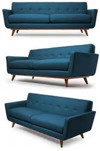 my style republic mid century modern sofa nixon sofa