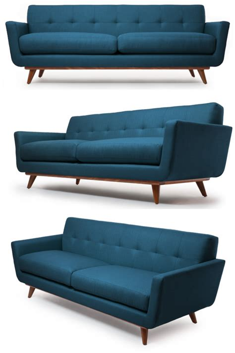 Mid Century Modern Sofa by Style Republic Mid Century Modern Sofa Nixon Sofa