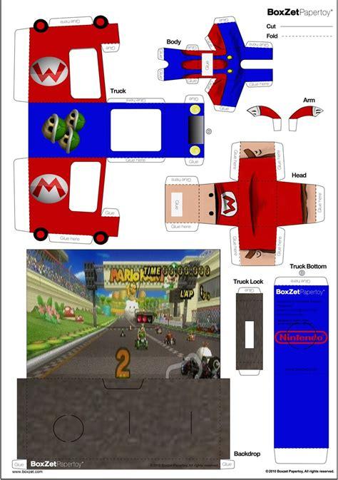 Papercraft Mario Kart - mario kart papercraft boxzet 2 by cjrogue on deviantart