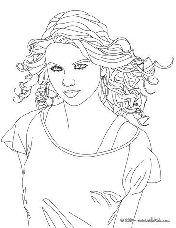 taylor swift coloring pages easy beautiful taylor swift close up coloring pages hellokids com