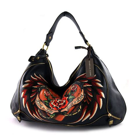 Fiore Thing Bag by Fiore Audra Handbag Black Purse Obsession