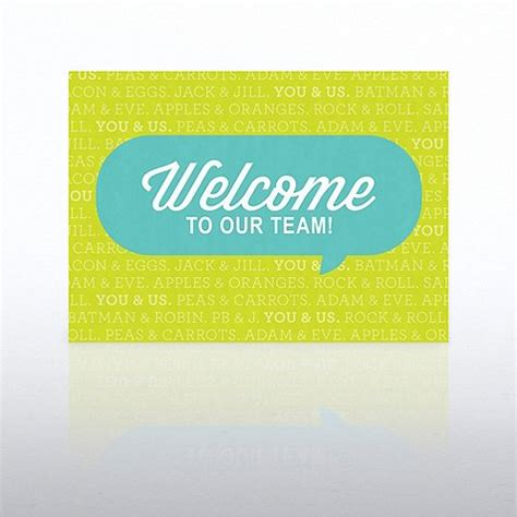 Kaos Note Note 18 Bv onboarding greeting card welcome quote at