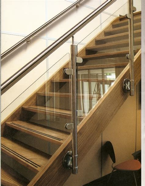 Banister Rail Fixings by S S Glass Railing With Side Fixing Systems In Borivali E