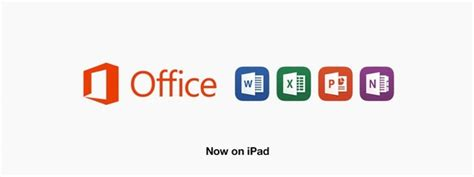 design banner microsoft office this is microsoft office for ipad screenshots features