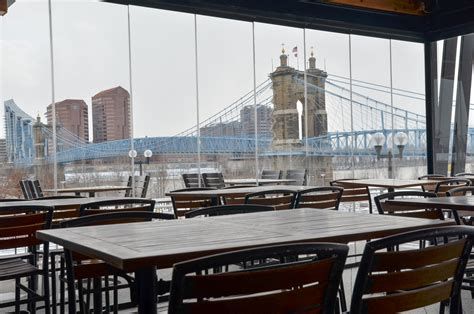 yard house cincinnati oh these 11 restaurants have incredible cincinnati skyline views cincinnati refined