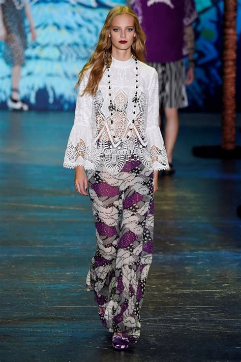 New Week A New Sui Dresss by Sui Rtw Summer 2016 New York Fashion Week