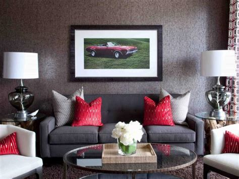 Framed Living Room by Photo Page Hgtv