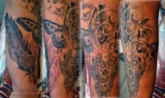 Feminine half sleeve tattoo in progress by gettattoo on deviantart