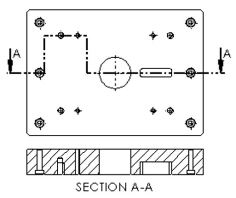 offset section view 2013 solidworks help section views in drawings