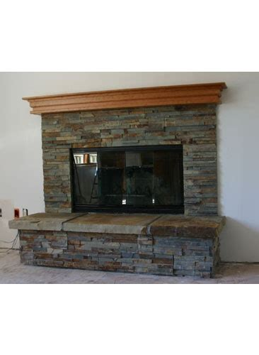 update to our brick fireplace mantel me
