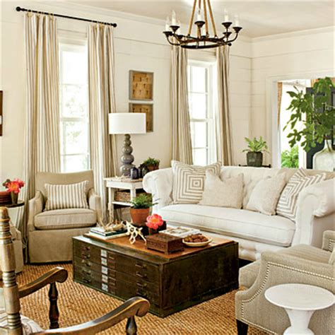 Southern Style Living Room by Cascar 218 Decoraci 211 N Casa Americana