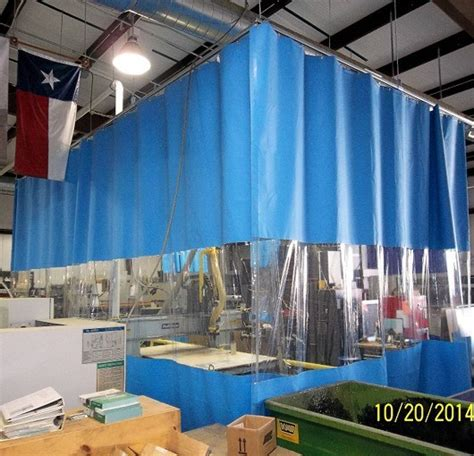 industrial dust curtains woodworking curtains akon curtain and dividers
