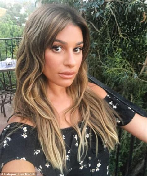 rachel from glee hair new hair lea michele out on anniversary of corey monteith s death