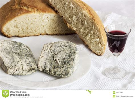 Handmade Cheese - cabrales cheese stock photo image 50783241