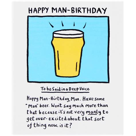 Manly Happy Birthday Quotes Happy Birthday Man Cliparts Co