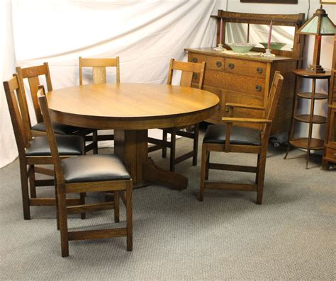Oak Buffet Table by Bargain S Antiques 187 Archive Antique Mission Oak Dining Set Buffet Table With