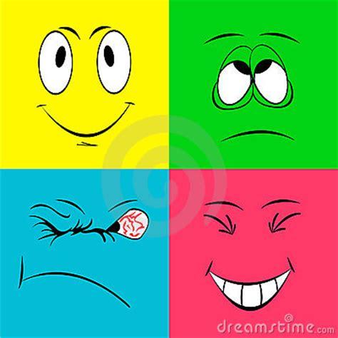 imagenes goticas alegres caras sonrientes alegres foto de archivo imagen 5295530