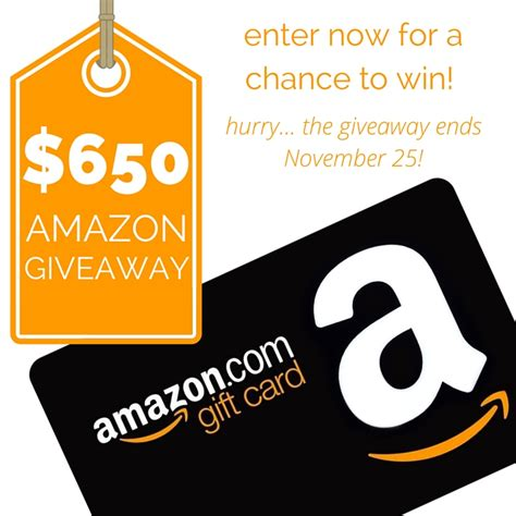 Amazon Gift Card Giveaway 2015 - 650 amazon gift card giveaway leelalicious