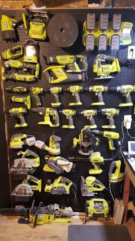 ryobi tool collection ryobi tools garage tools garage