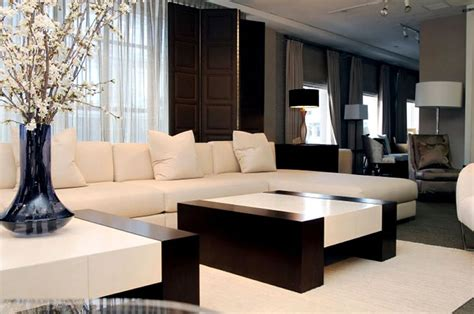 luxury home furniture retail interior decorating donghia showroom new york new york by design