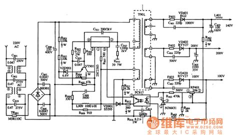 integrated circuit power supply smr62000a the integrated circuit of switch power supply thick lifier circuit