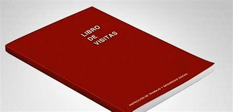 libro visitor the how and adi 243 s al libro de visitas de la inspecci 243 n laboral laborytax