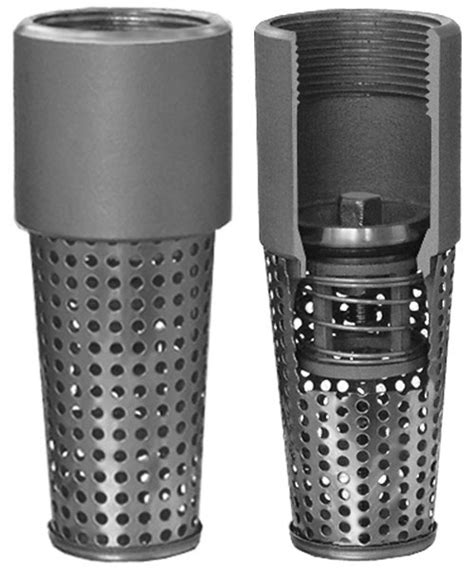 Foot Valve Stainles foot valve stainless stemless simmons manufacturing