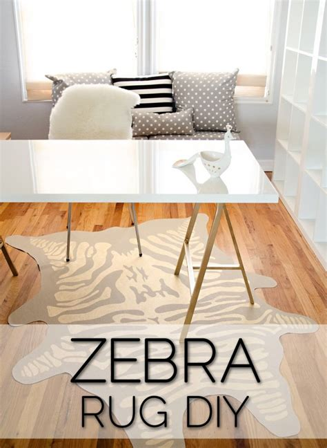 diy zebra rug faux zebra rug diy vinyl gold leaf pen rugs vinyls drop cloths and paint pens