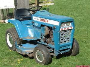 Ford Lgt 125 Ford Garden Tractor Photos