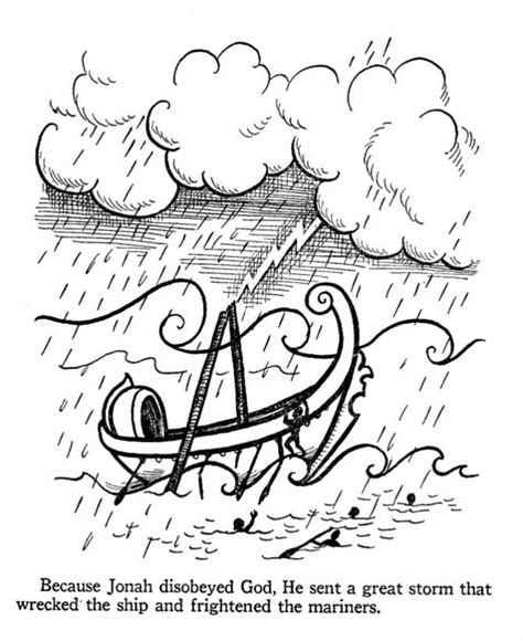 free jonah coloring page jonah and the whale bible story coloring pages coloring home