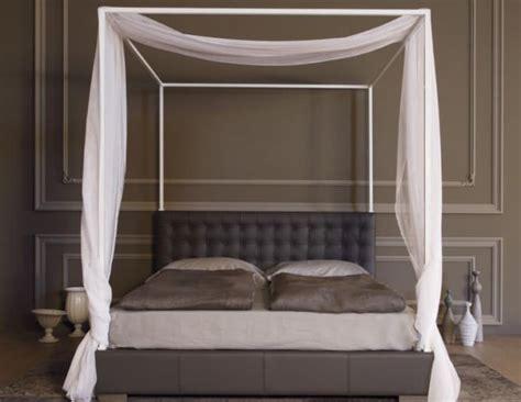 letto a baldacchino moderno letto baldacchino moderno idee di design per la casa