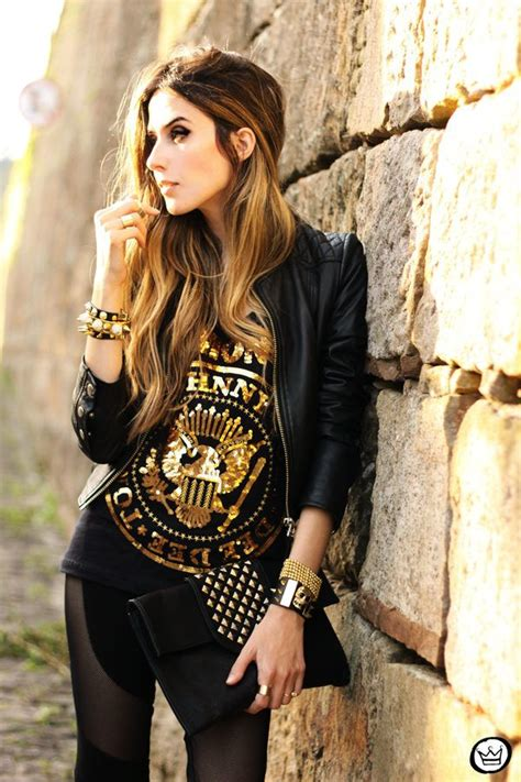 Studded Clutch Rock N Roll 25 best ideas about studded leather jacket on