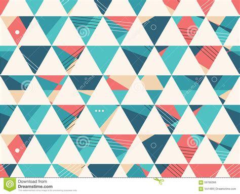 geometric shape pattern background abstract seamless geometric shape vector pattern stock