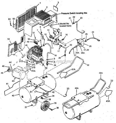 sears craftsman 919 156521 air compressor parts
