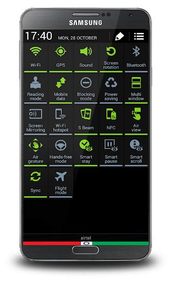 themes samsung galaxy note 3 theme theme black grey for note iii samsung galaxy