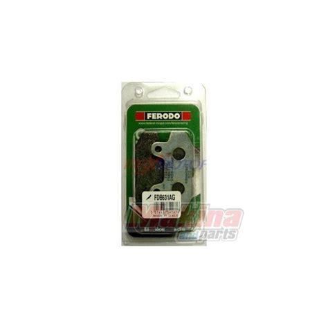 Discpad Honda Supra Fit fdb631ag ferodo front disc pads honda cbf250 supra xl125 v