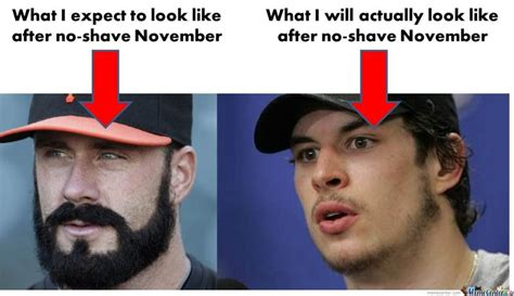 No Shave November Meme - no shave november a unique way to grow cancer awareness