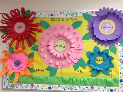 free printable flowers for bulletin boards 7 best images of flower printables for bulletin boards
